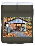 Little Covered Bridge II Duvet Cover