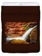 Little Deer Creek Fall Duvet Cover by Inge Johnsson