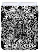 Little Flower Kaleidoscope Duvet Cover