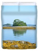 Little French Island In Maine Duvet Cover