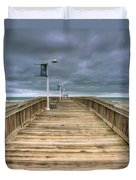 Little Island Pier Duvet Cover