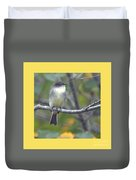 Little Lady Eastern Kingbird 4 Duvet Cover