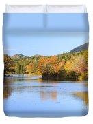 Little Long Pond And Bubbles Mount Desert Island Maine Duvet Cover