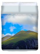 Little Man Skiddaw And Ullock Pike Duvet Cover