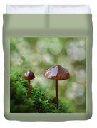 Little Mushroom Reflections Duvet Cover