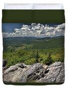 Little Pinnacle Grayson Highlands Va Duvet Cover