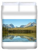 Little Redfish Lake Duvet Cover