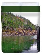 Little River In Digby Neck-ns Duvet Cover