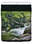Little River Scenery E226 Duvet Cover