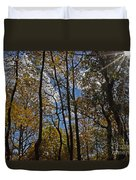 Little Round Top Trees Duvet Cover
