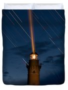 Little Sable Lighthouse Duvet Cover