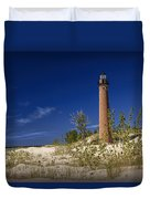 Little Sable Point Light No.0285 Duvet Cover