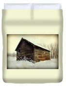 Little Shed Duvet Cover by Julie Hamilton
