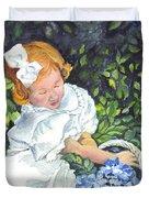 Sophies Hydrangeas Duvet Cover