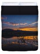 Little Washoe Summer Reflections Duvet Cover