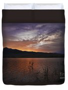 Little Washoe Sunset Duvet Cover
