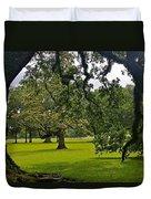 Live Oak Tree At Oak Alley Plantation Duvet Cover