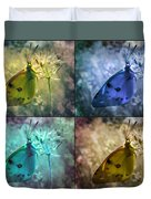 Lives Of A Butterfly Duvet Cover
