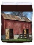 Livestock Barn Duvet Cover