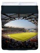 Livestrong Sporting Park Kansas City Duvet Cover