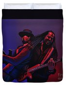 Living Colour Painting Duvet Cover