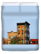 Living In Chicago Lincoln Park Duvet Cover by Christine Till