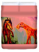 You Will Be Living In My Dreams  Duvet Cover