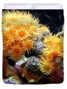 The Living Sea Duvet Cover