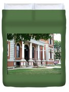 Livingston County Courthouse 05 Pontiac Il Duvet Cover
