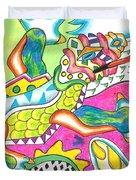Ioli - Lizard Duvet Cover