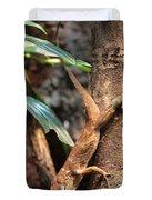 Lizard On The Tree Duvet Cover