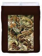 Lizards Lizards And More Lizards Duvet Cover