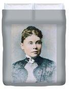 Lizzie Andrew Borden (1860-1927) Duvet Cover