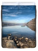 Llanberis Lake Duvet Cover by Adrian Evans