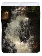 Llangollen And Maelor Country Waterfalls Duvet Cover