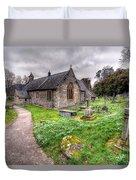 Llantysilio Church Duvet Cover by Adrian Evans