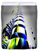 Lloyd's Building London Art Duvet Cover