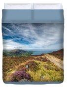 Llyn Peninsula Duvet Cover