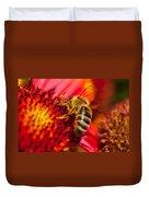 Loads Of Bee Pollen Duvet Cover