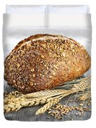 Loaf Of Multigrain Bread Duvet Cover
