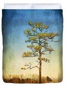 Loblolly Pine Along The Chesapeake Duvet Cover
