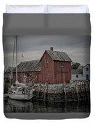 Lobster Shack - Rockport Duvet Cover