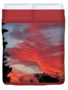 Lobster Sky Duvet Cover