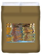 Lobster Trap Reflections Duvet Cover