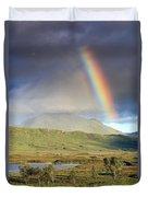 Loch Ba Rainbow Duvet Cover