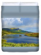 Loch Fada To The Storr Duvet Cover
