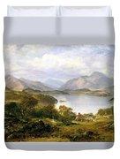 Loch Lomond, 1861 Duvet Cover