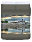 Lock Haven In The Susquehanna Duvet Cover