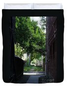 Locke Chinatown Series - Alley With Trees - 5 Duvet Cover