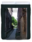 Locke Chinatown Series -  Alleyway With Trees - 4 Duvet Cover